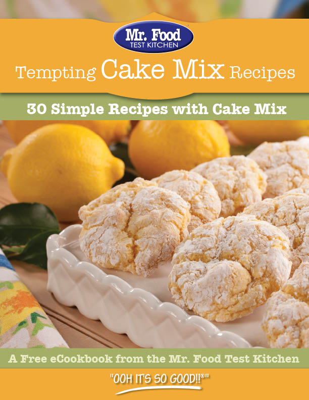 Cookie Jar Favorites 35 Of Our Best Recipes Tempting Cake Mix