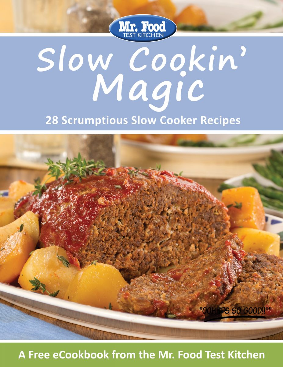 Slow Cookin' Magic: 28 Scruptious Slow Cooker Recipes from Mr. Food