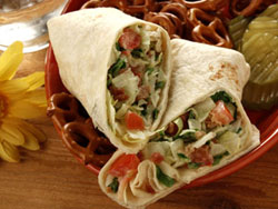 BLT Rollups RE School Lunch Ideas