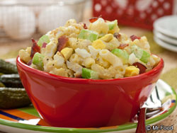 Bacon and Egg Macaroni Salad