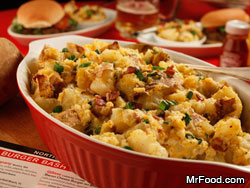 Baked Potato Salad RE a Spud Wars: Mr. Food Judges the Side Dish Challenge at the Food Network South Beach Wine & Food Festival