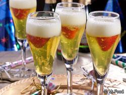 Champagne Dessert Cocktails