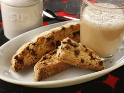 Chocolate Chip Biscotti RE Dont Mind the Crumbs: More Cookie Recipes Worth Sharing
