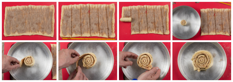 Cinnamon Roll Cake How-To