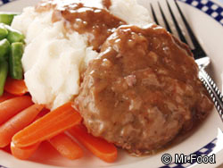 Country Style Salisbury Steak RE Your Fave Five: The Top 5 TV Recipes of March