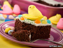 Easter Candy Cake 03 10 11 RE A Peep at Our Best Marshmallow y Desserts