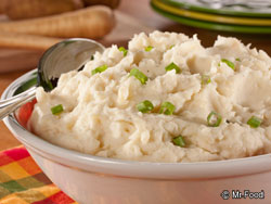 Fast Mashed Potatoes and Parsnips RE Thanksgiving Side Dish Survival Guide
