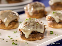 French Onion Stuffed Mushrooms