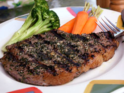 Garden Herb Steak