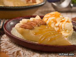 Gooey Amish Caramel Pie
