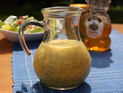 Honey Poppy Seed Dressing RE Skip the Squeeze Bottle: Easy Homemade Salad Dressings