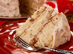 Italian Cream Cake RE a Your Fave Five: The Top 5 TV Recipes of March
