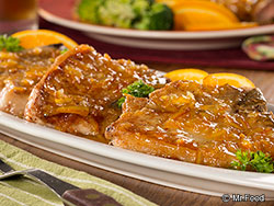 Marmalade Dijon Pork Chops