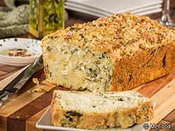 Mediterranean Kale Bread