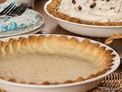 No Roll Pie Crust