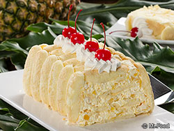 Pineapple Freezer Cake