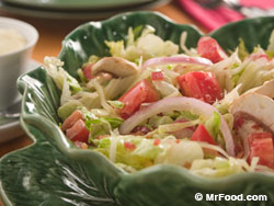 Refrigerator Layered Salad RE Cool Summer Suppers