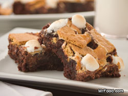 Smore Brownies RE Tasty July 4th Memories