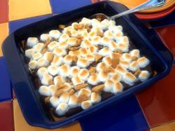 Smores Pudding 07 24 09 RE A Peep at Our Best Marshmallow y Desserts