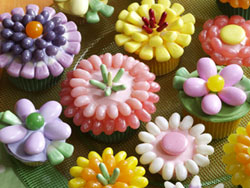 Spring Flower Cupcakes RE Spring Has Sprung! Top 10 Spring Recipes