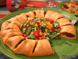 Taco Ring RE Your Fave Five: The Top 5 TV Recipes of May