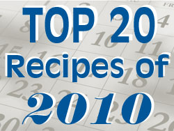 Top 20 Recipes of 2010