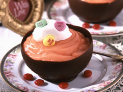Valentines Day Chocolate Cups RE Make Valentine's Day Special