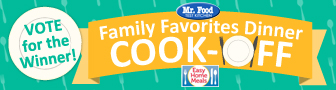 Vote in Family Favorites Dinner Cook-Off!